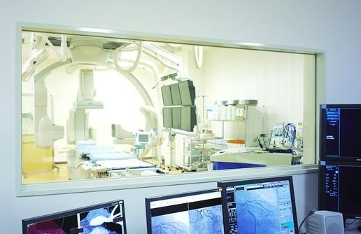 X-ray glass for the medical sector